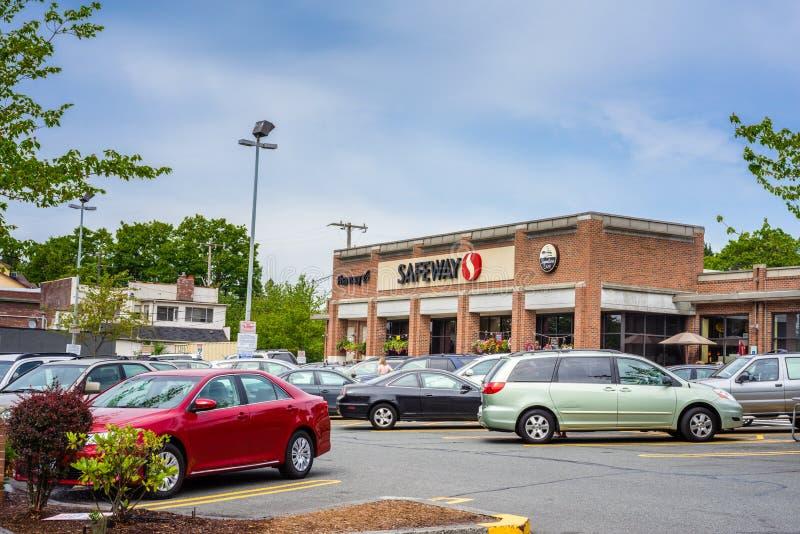 Safeway supermarket stock photo