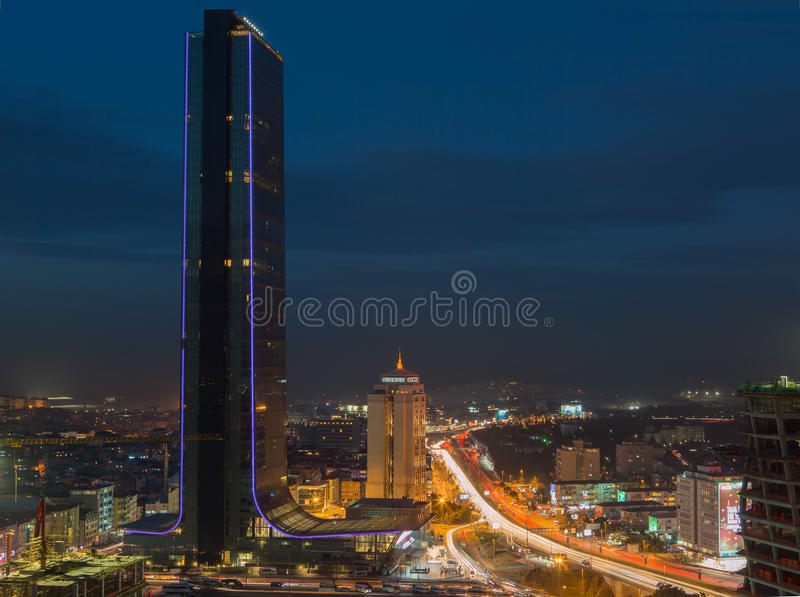 Saffier Istanboel stock foto