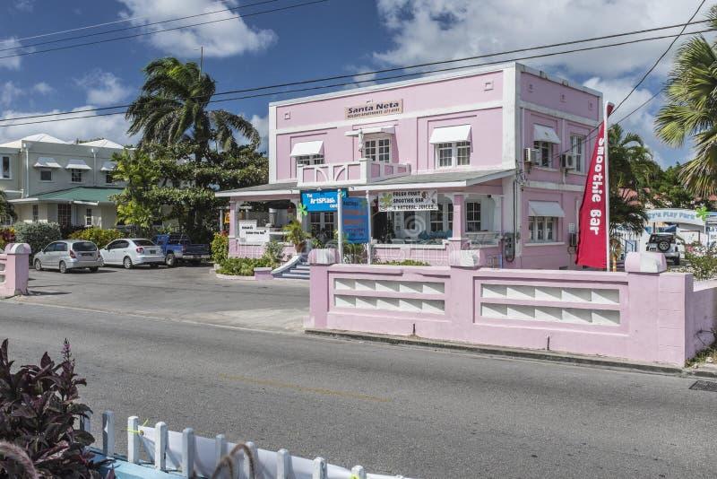 Saft und smoothy Stange, Barbados stockfoto