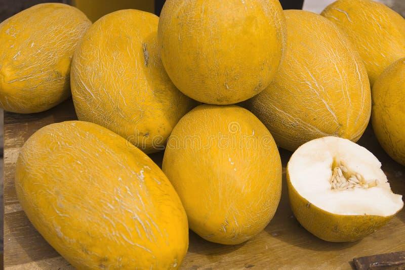 saftig melon arkivfoton