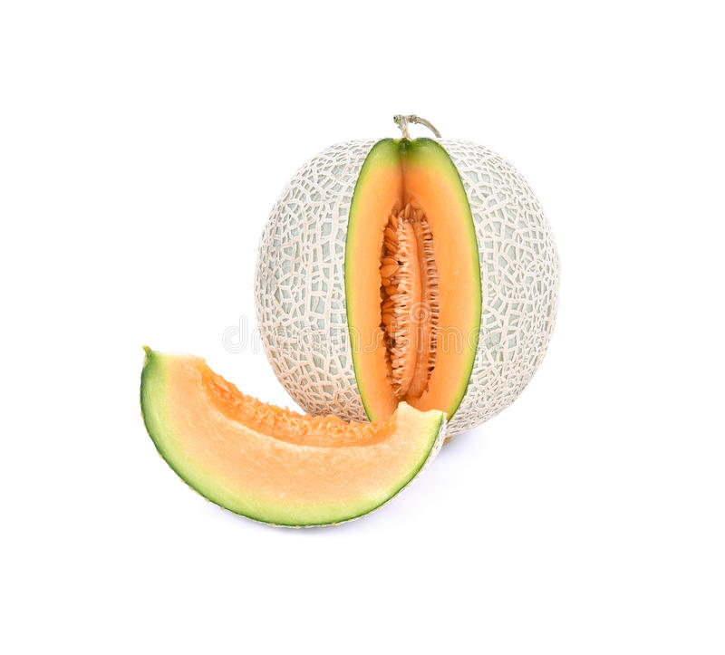 Saftig melon/A saftig honungsmelon för honungsdagg Melon/A från den Japan nollan arkivbilder