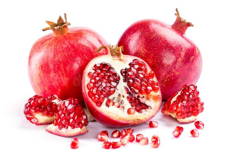 saftig pomegranate fotografering för bildbyråer