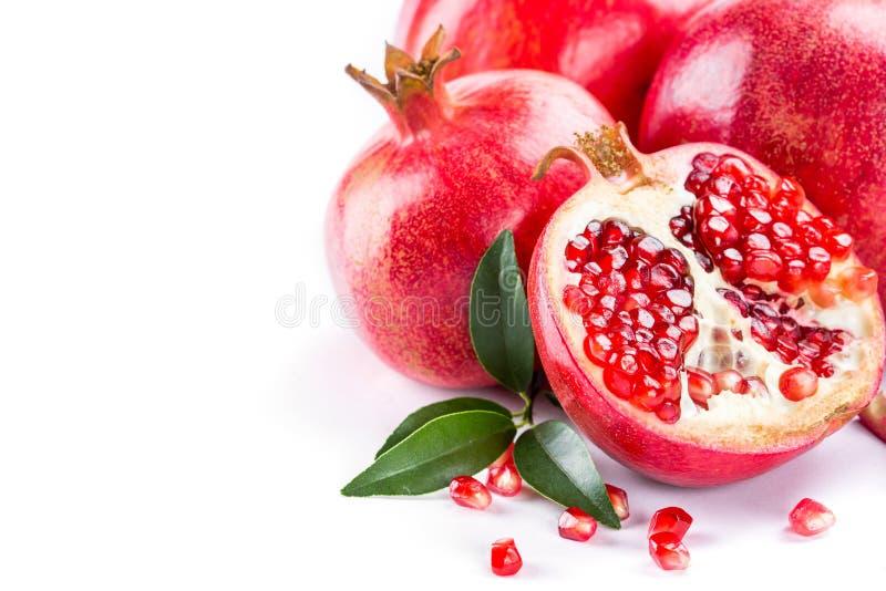 saftig pomegranate arkivfoton