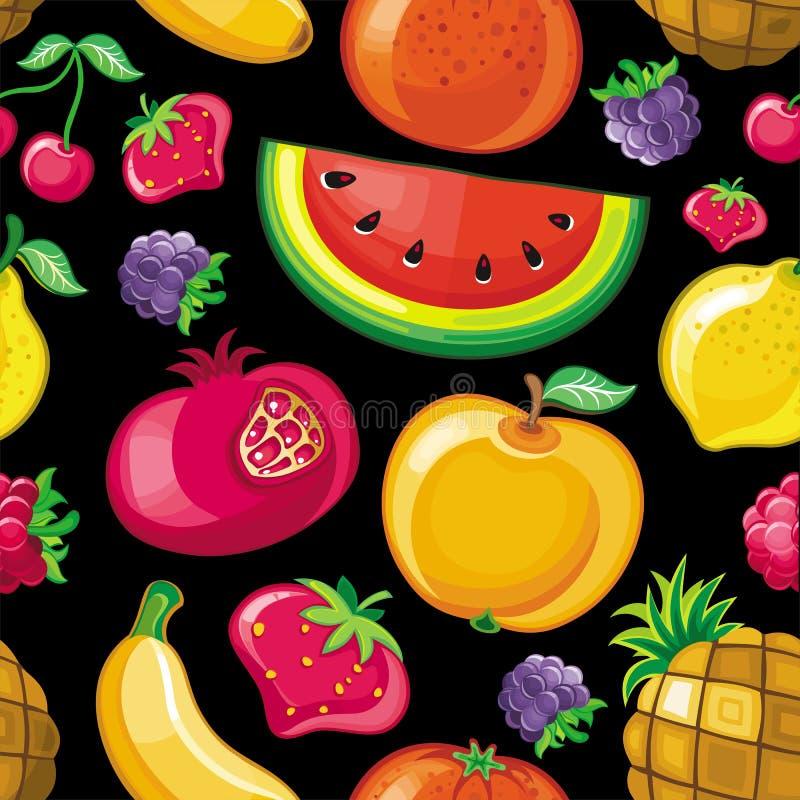 saftig seamless textur för 2 frukt