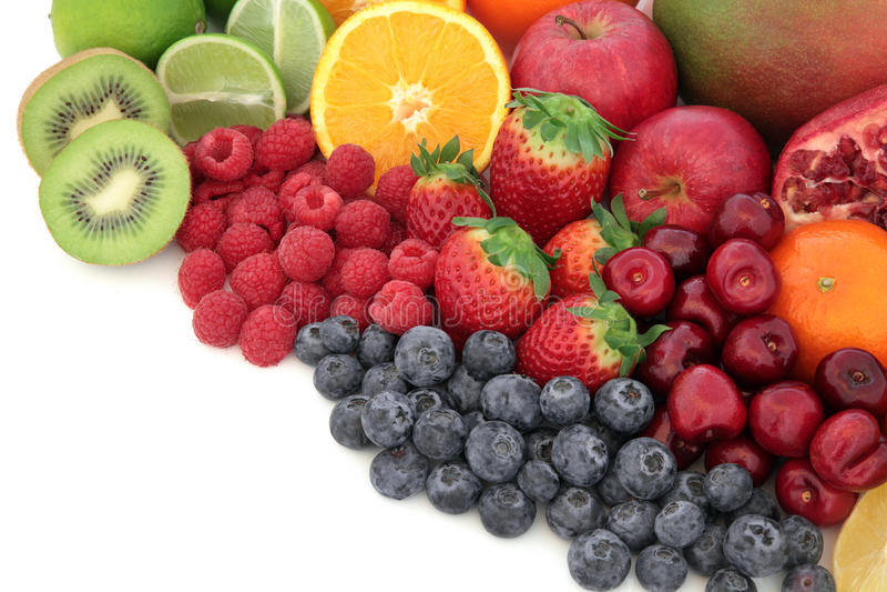 Saftige Frucht lizenzfreies stockfoto