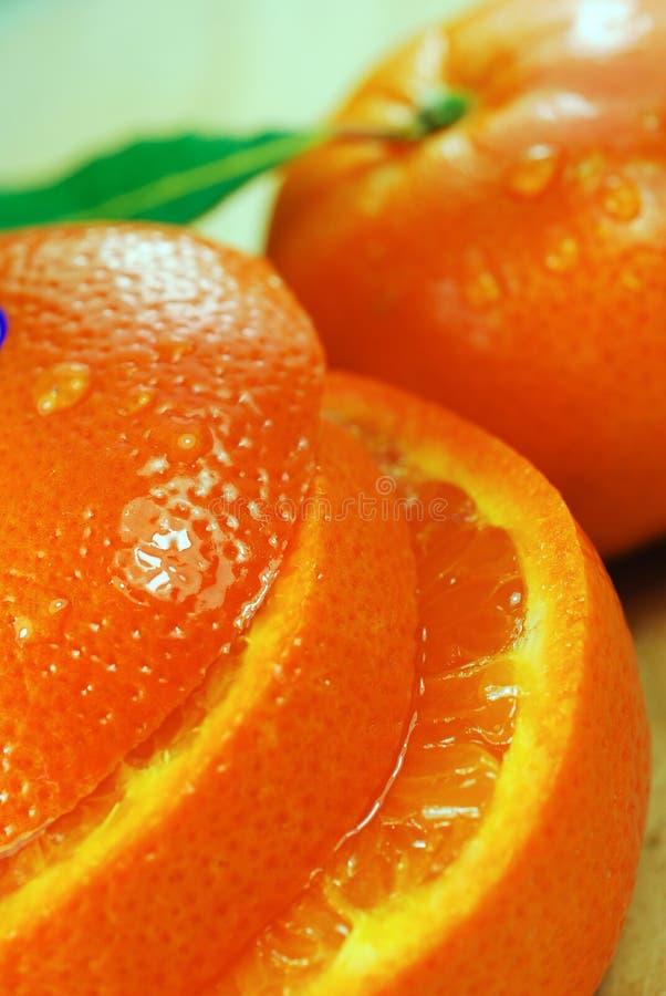 Saftige Orange lizenzfreie stockbilder