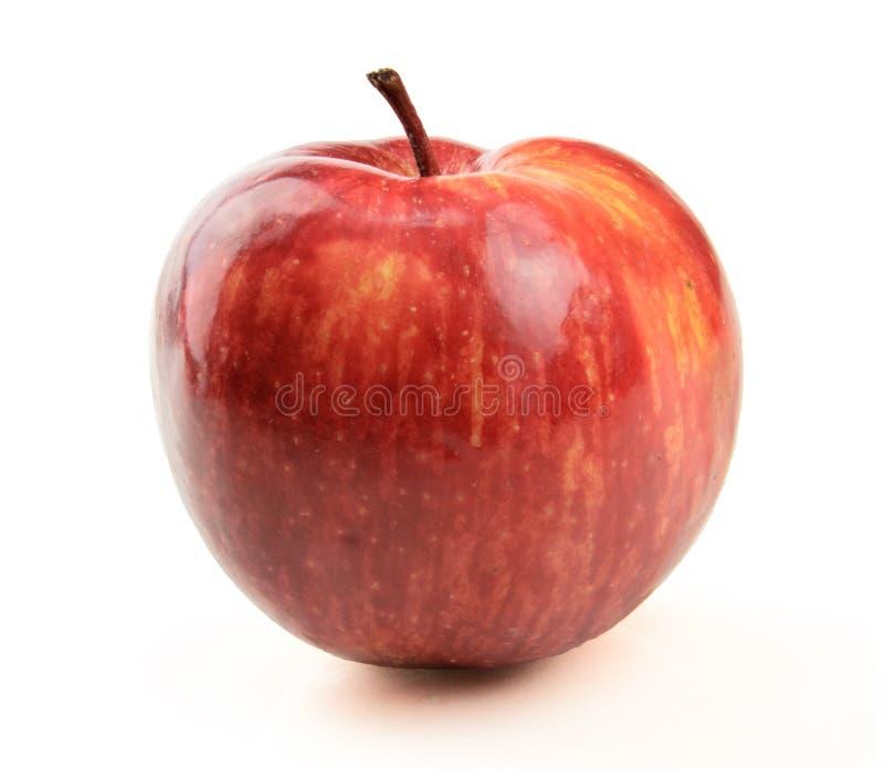 Saftiger Apfel stockfotografie