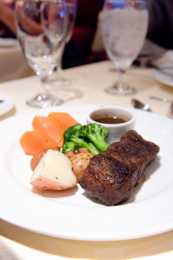 Saftiges Angus-Steak lizenzfreies stockfoto