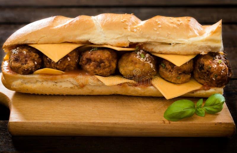 Saftiges Sandwich lizenzfreie stockbilder