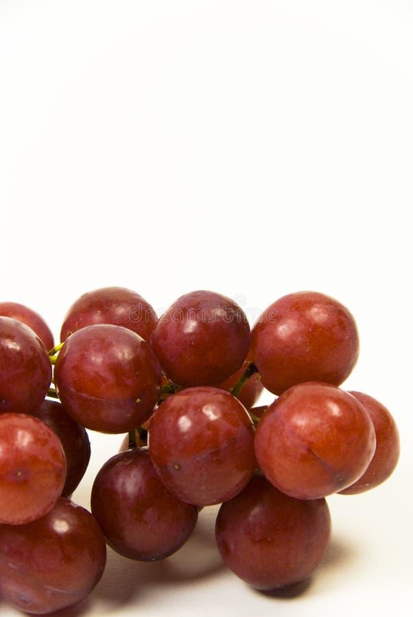 Saftigt Rött Seedless För Druvor Arkivfoto
