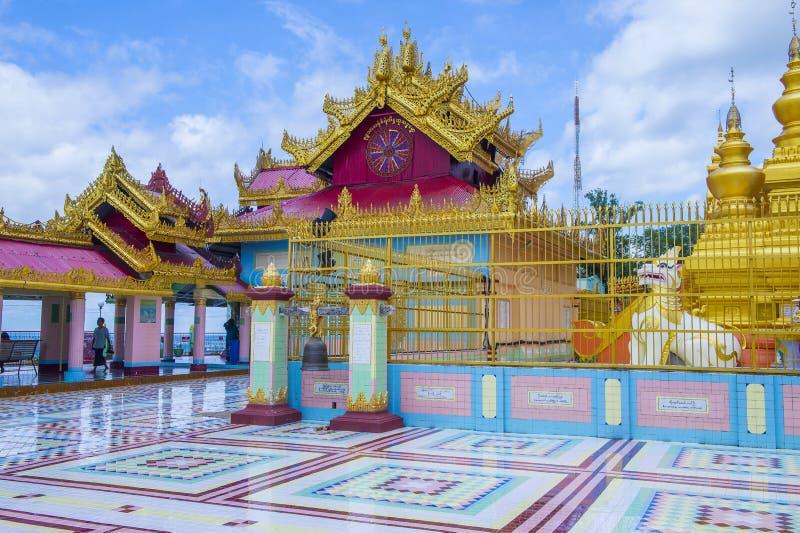 Sagaing pagoda Myanmar obraz royalty free