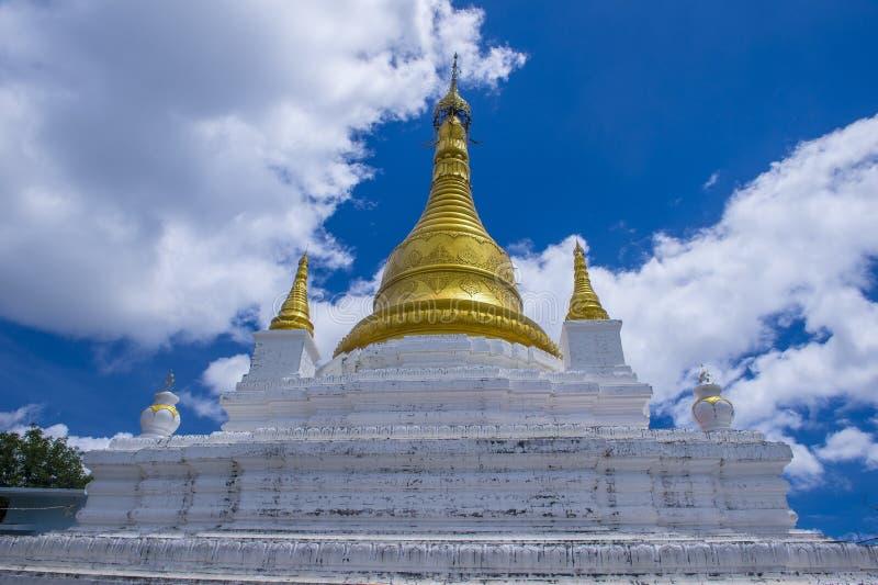 Sagaing Pagoda Myanmar royalty free stock photo