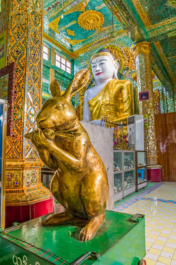 Sagaing wzgórze, Mandalay fotografia royalty free