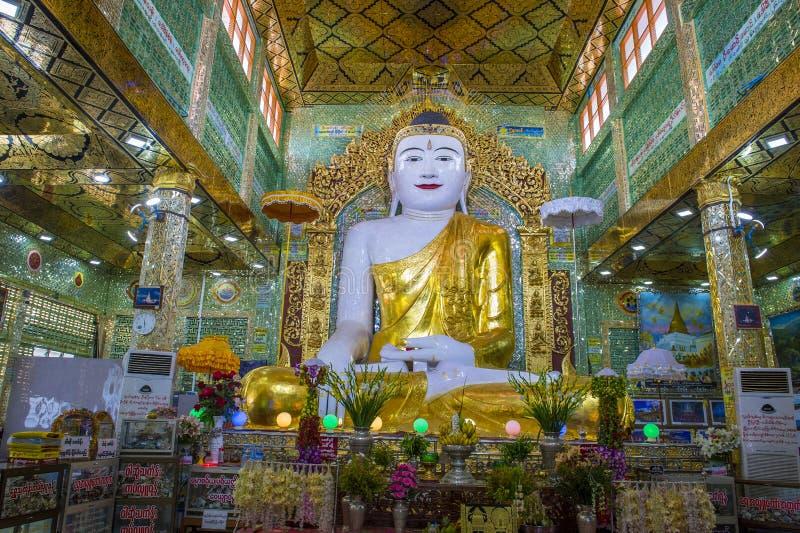 Sagaingspagode Myanmar stock foto's