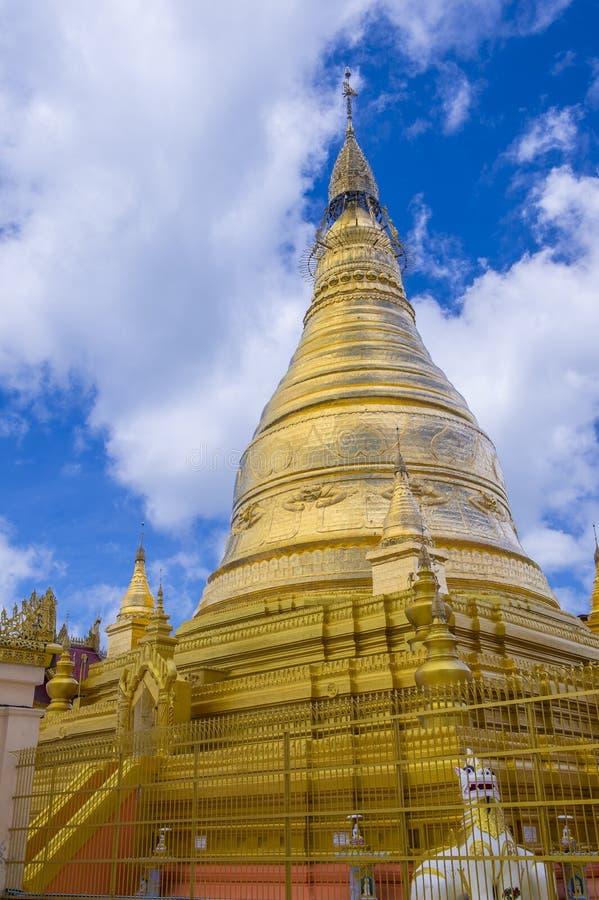Sagaingspagode Myanmar royalty-vrije stock foto's