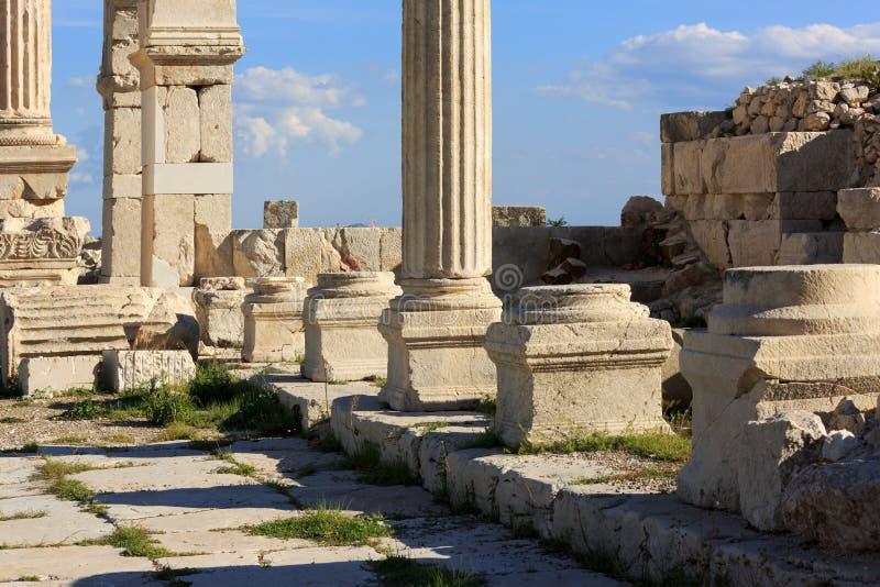 Sagalassos ancient city stock photo
