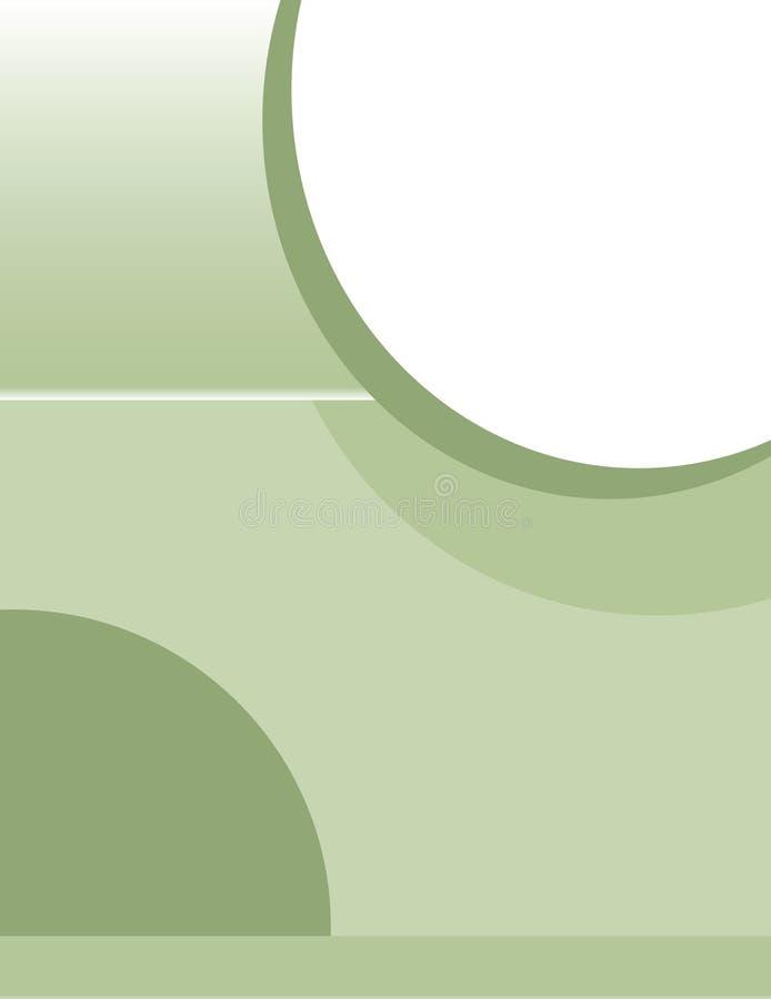 Sage Brochure Background ilustración del vector