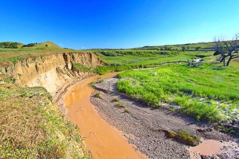 Sage Creek Badlands National Park arkivbilder