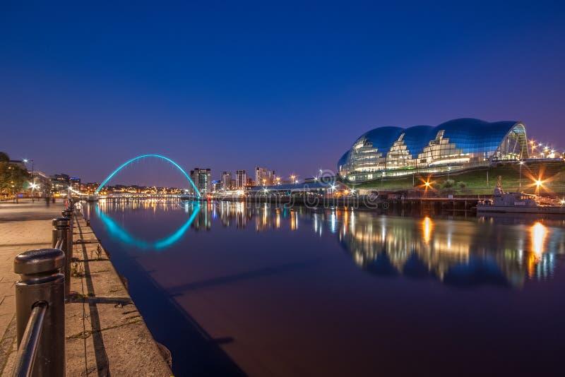 Sage Gateshead, Newcastle lizenzfreie stockbilder