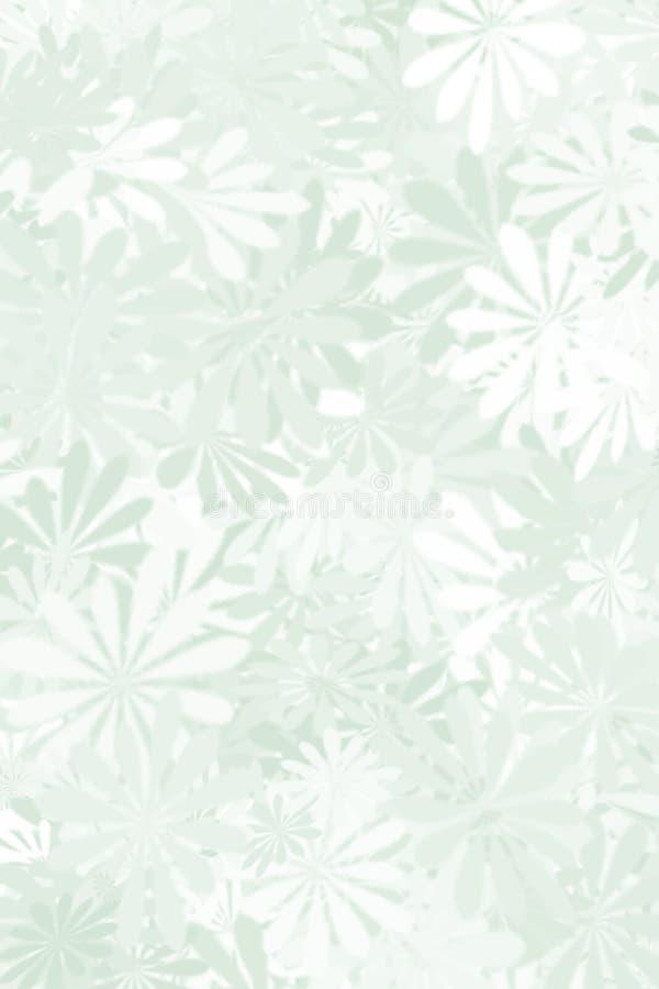 Download Sage Green Floral Background Stock Illustration - Image: 6460943