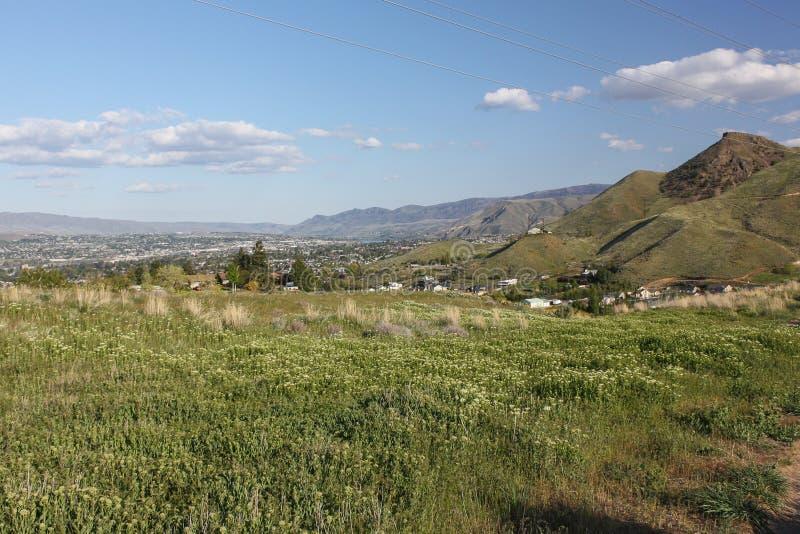 Sage Hills Wenatchee lizenzfreies stockbild
