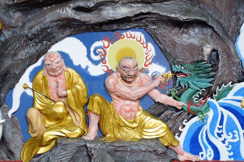 Buddhism artwork royalty free stock photos