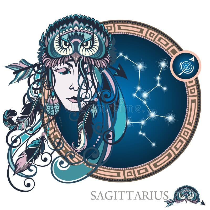 sagitario Muestra del zodiaco libre illustration