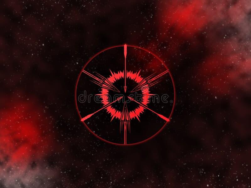 Sagitario Starfield del zodiaco libre illustration