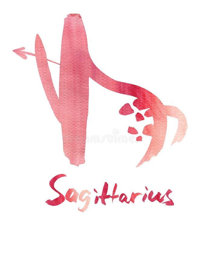 sagittarius royalty-vrije illustratie
