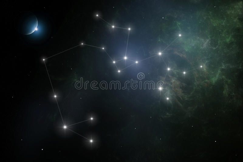 Sagittarius illustrazione di stock