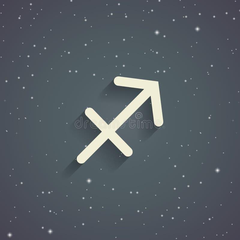Sagittarius Zodiac Symbol Stock Illustration Illustration Of