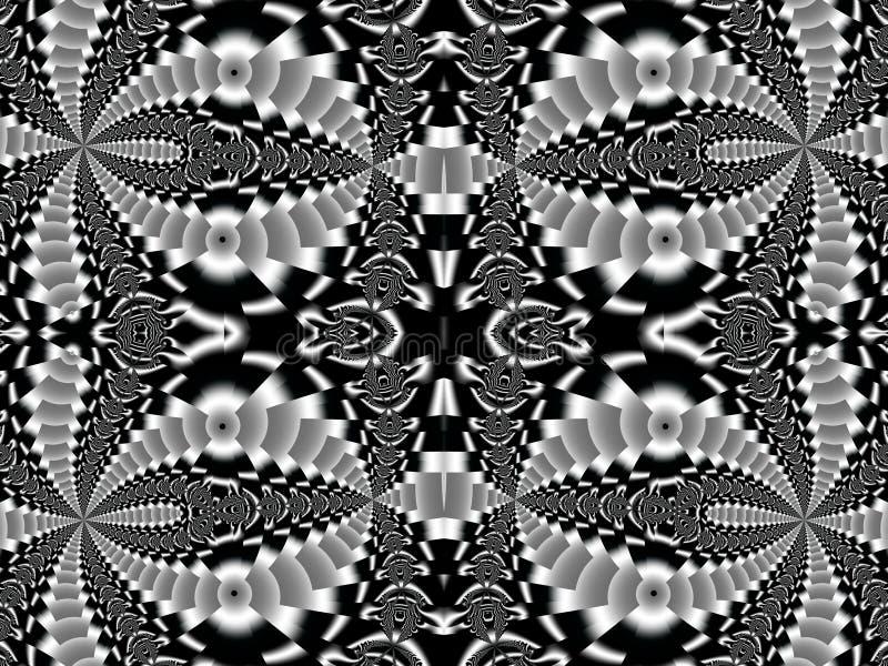 Sagolik bakgrund Samling - magisk satäng Konstverk för cre stock illustrationer