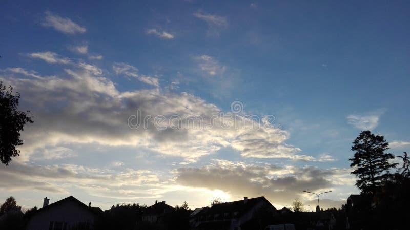 Sagolik himmel 9 royaltyfri bild