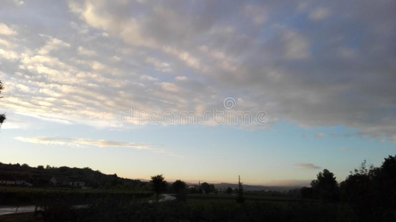 Sagolik himmel 7 royaltyfria bilder