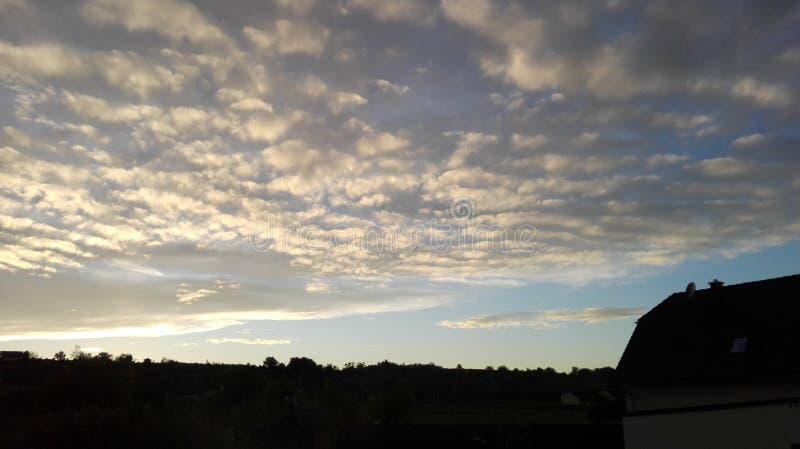 Sagolik himmel 6 royaltyfria bilder