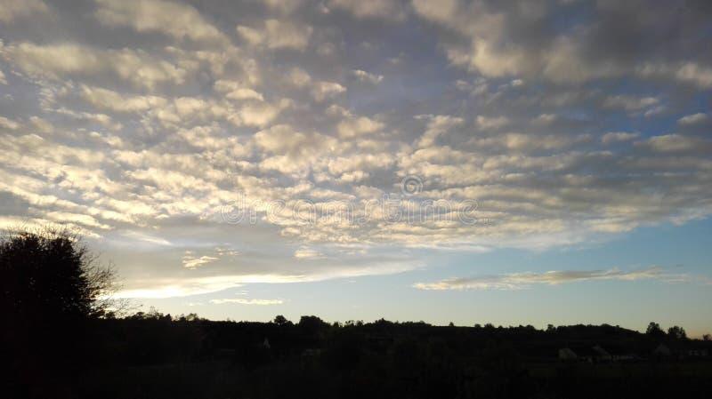 Sagolik himmel 3 royaltyfri fotografi