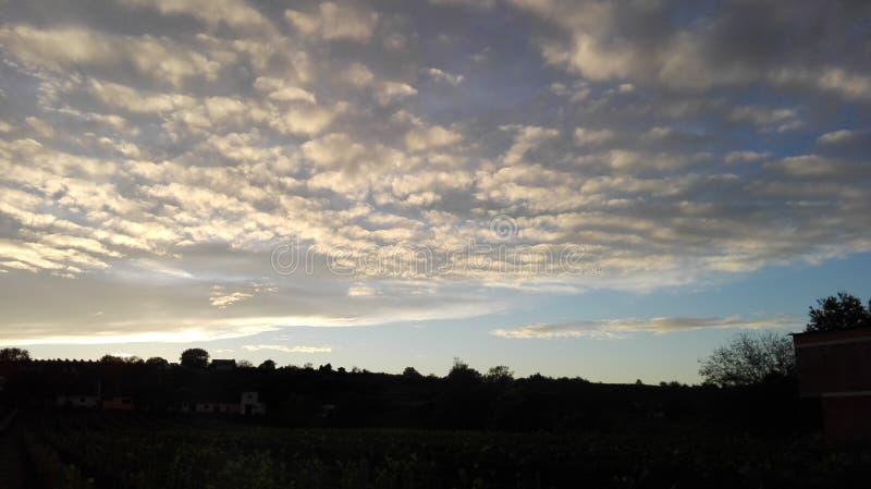 Sagolik himmel 2 arkivbild