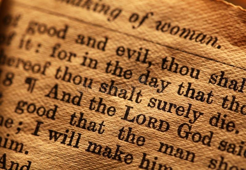 Sagrada Biblia imágenes de archivo libres de regalías