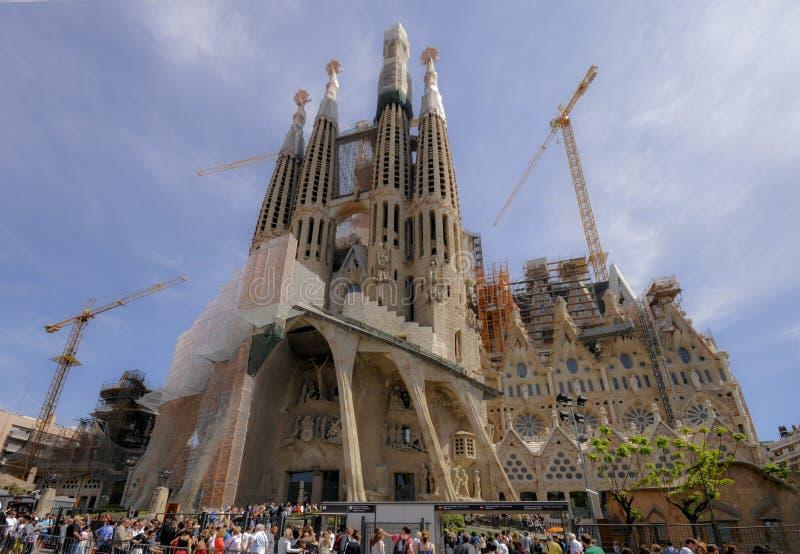 Sagrada FamÃlia της Βαρκελώνης στοκ φωτογραφία με δικαίωμα ελεύθερης χρήσης