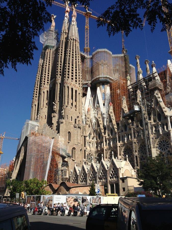 Sagrada Família imagens de stock