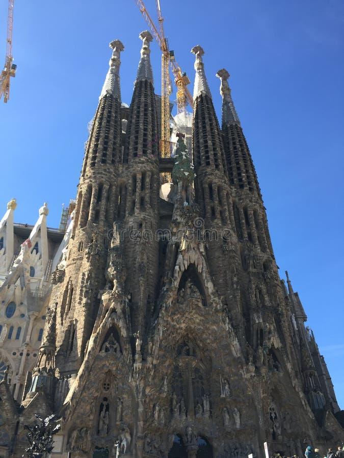 Sagrada Família imágenes de archivo libres de regalías