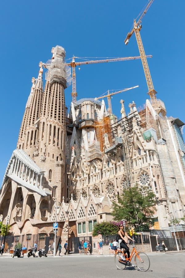 Sagrada Famila Барселона Испания стоковые изображения