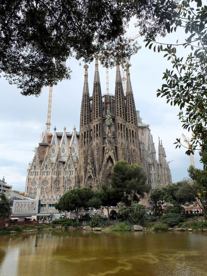 Sagrada famila στοκ φωτογραφία