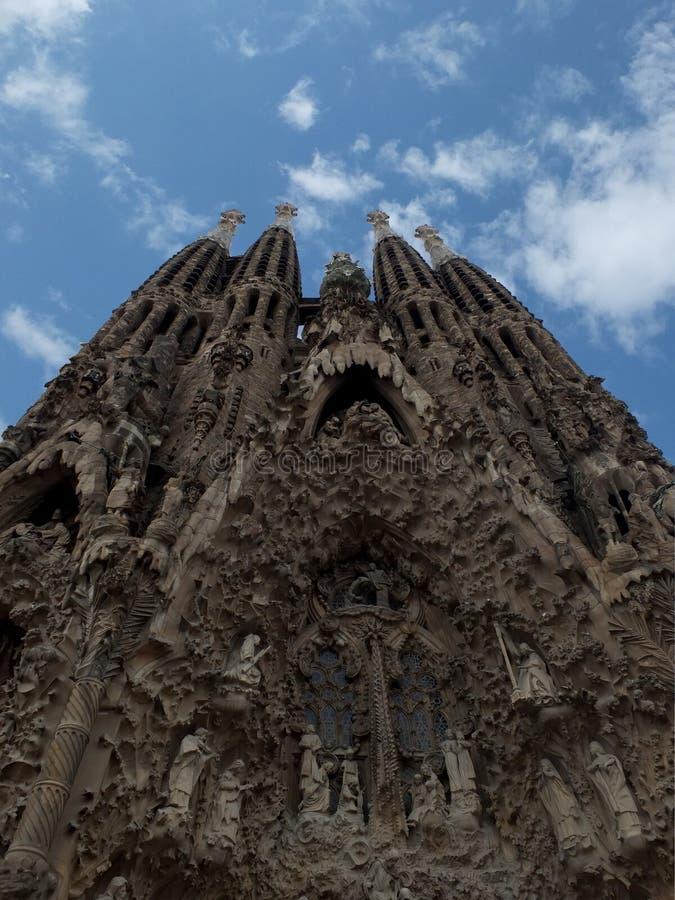 Sagrada famila στοκ εικόνες