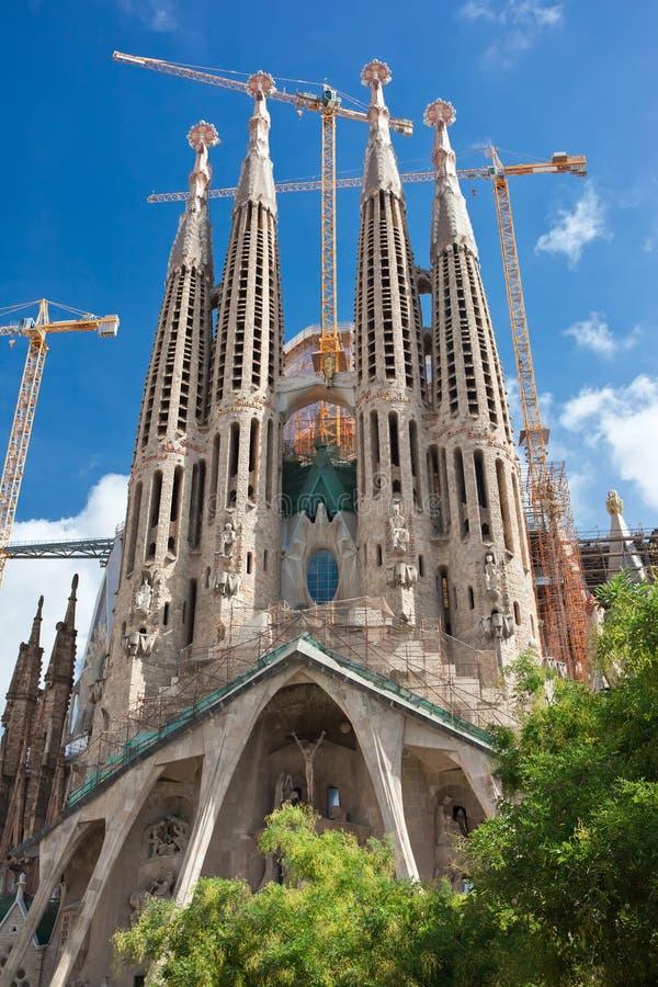 Sagrada Familia à Barcelone images stock