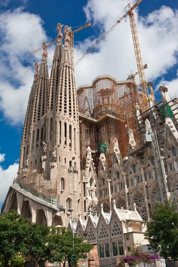Sagrada Familia à Barcelone photo libre de droits