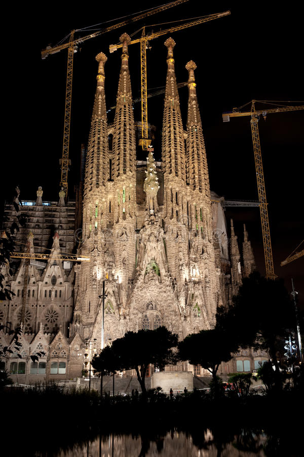 Sagrada Familia à Barcelone photographie stock