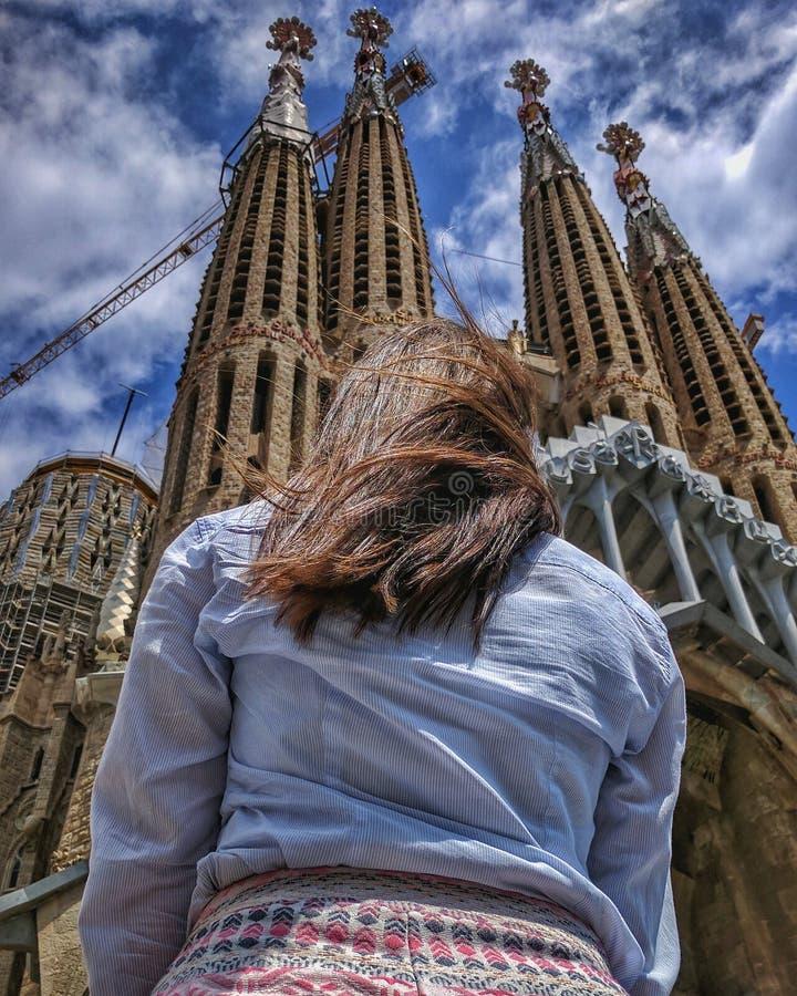 Sagrada Familia lizenzfreies stockbild