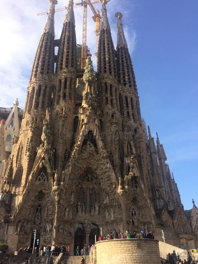 Sagrada Familia fotos de stock royalty free
