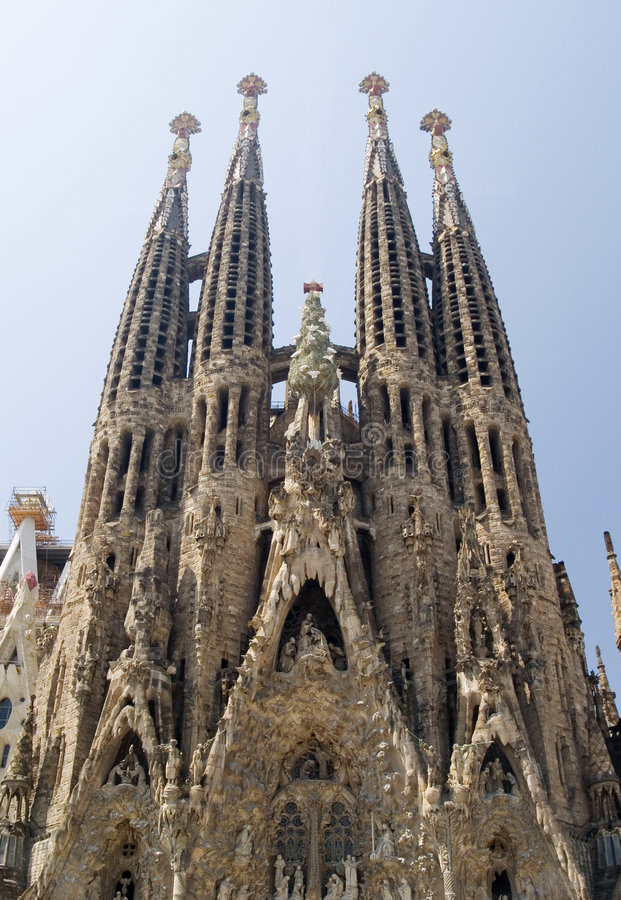 Sagrada Familia 11 stockfoto